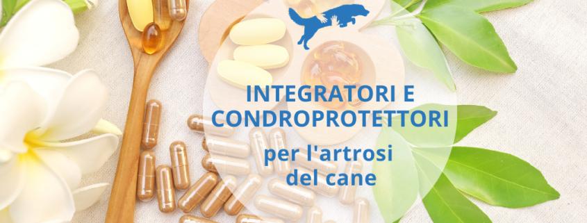 integratori e condroprotettori per l'artrosi nel cane